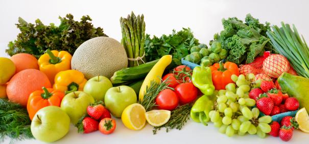 Heap「Fresh veggies and fruits, studio shot」:スマホ壁紙(19)