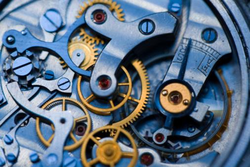 Gear - Mechanism「inside the clock」:スマホ壁紙(10)