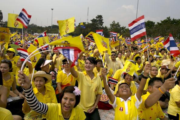 Yellow「King Of Thailand Celebrates 85th birthday」:写真・画像(11)[壁紙.com]