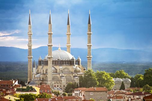 Indigenous Culture「Selimiye Mosque, Edirne, Turkey」:スマホ壁紙(5)