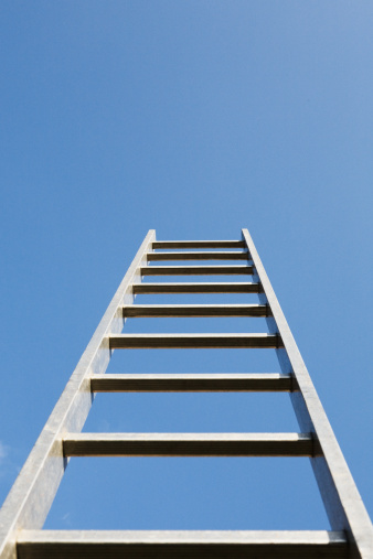 Effort「A ladder alone outdoors」:スマホ壁紙(16)