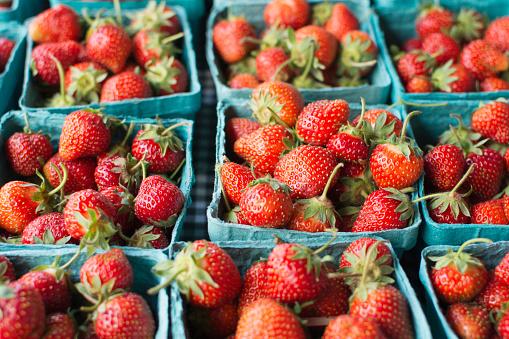 Supermarket「Crates of strawberries」:スマホ壁紙(16)