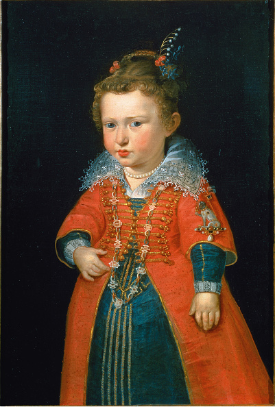 Baroque Style「Eleonora Gonzaga (1598-1655) At The Age Of Two」:写真・画像(12)[壁紙.com]