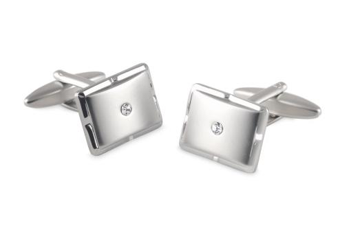 Cuff - Sleeve「silver cufflinks with crystal inset」:スマホ壁紙(3)