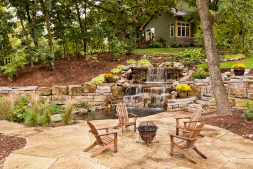 Stone Material「Perfect Backyard Landscaping」:スマホ壁紙(16)
