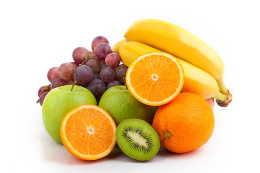 Kiwi「Medium pile of assorted fresh and bright fruit」:スマホ壁紙(6)