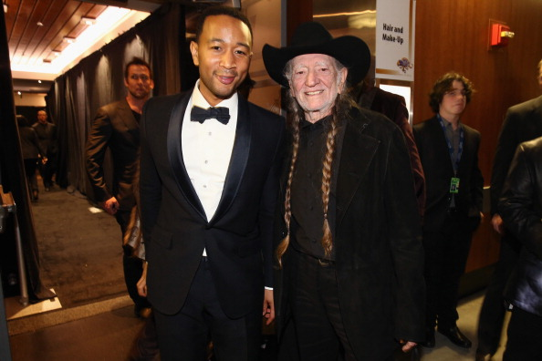 56th Grammy Awards「56th GRAMMY Awards - Backstage And Audience」:写真・画像(19)[壁紙.com]
