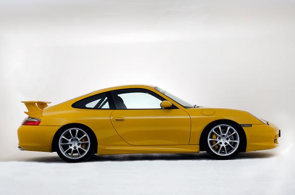 Yellow「2003 Porsche GT3」:写真・画像(4)[壁紙.com]