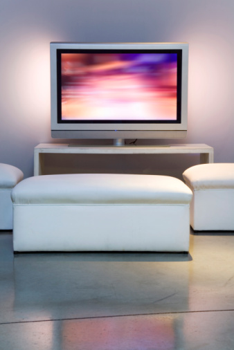Projection Screen「Apartment with Plasma television」:スマホ壁紙(19)