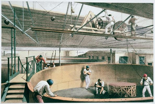 Cable「Manufacturing The Transatlantic Telegraph Cable circa 1865 (1866)」:写真・画像(6)[壁紙.com]