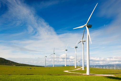 Spinning「Wind Turbines」:スマホ壁紙(0)