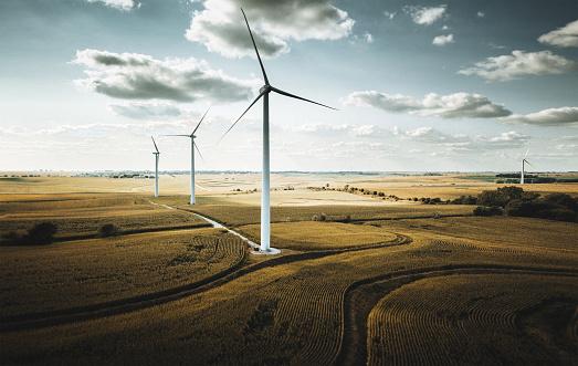 Wind Power「wind turbine in nebraska」:スマホ壁紙(18)