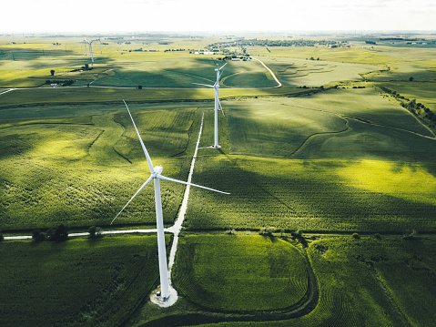 Wind Power「wind turbine in iowa」:スマホ壁紙(13)