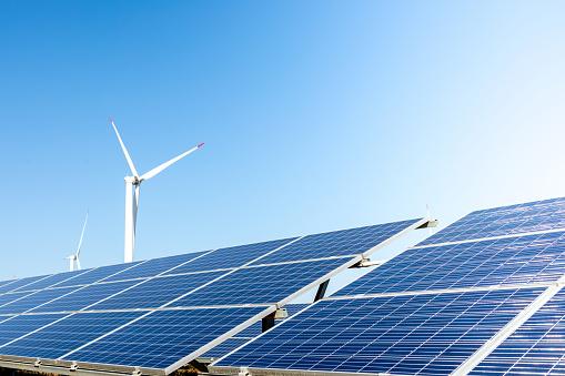 China - East Asia「Wind turbine solar panel renewable energy」:スマホ壁紙(18)