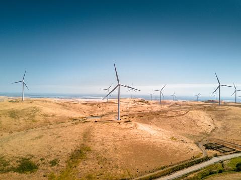 1980-1989「wind turbine in california」:スマホ壁紙(3)