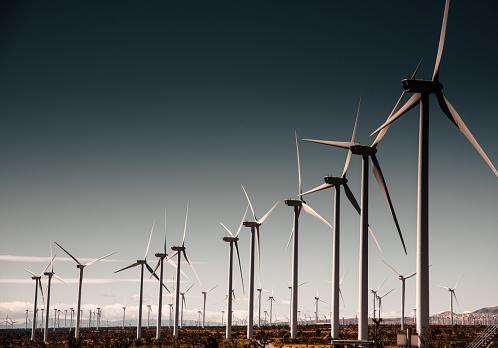 Mill「wind turbine in california」:スマホ壁紙(10)