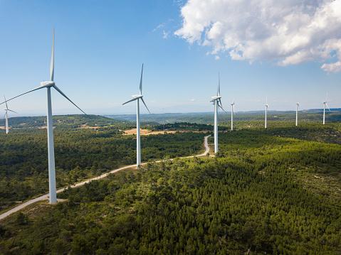 Mill「wind turbines in Spain」:スマホ壁紙(11)