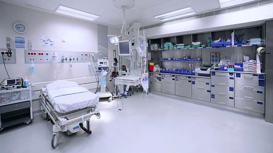 Medicine「Empty hospital ward」:スマホ壁紙(15)