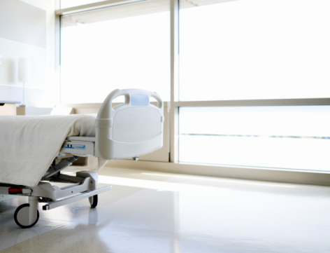 Healing「Empty hospital bed」:スマホ壁紙(4)