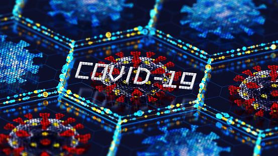 Cell Division「CoronaVirus Digital Test」:スマホ壁紙(13)