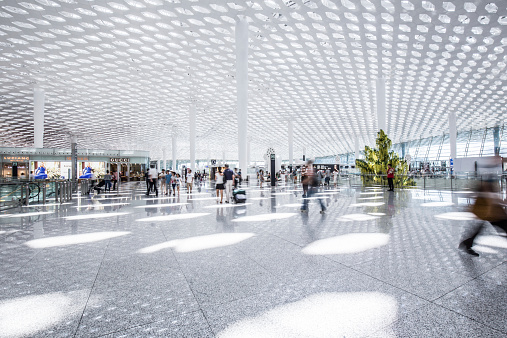 Shanghai「Modern Airport」:スマホ壁紙(1)