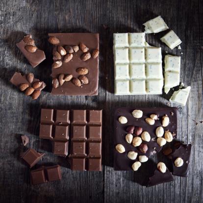 Square Shape「Chocolate bars」:スマホ壁紙(10)