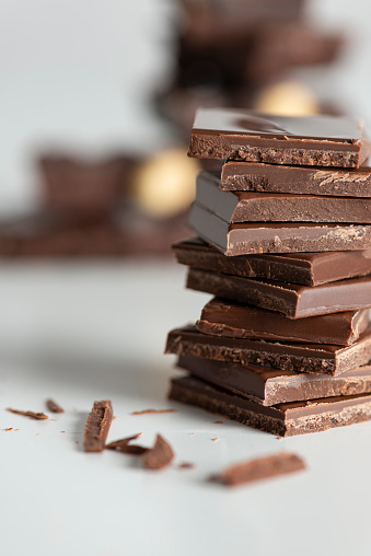 Nut - Food「Chocolate Blocks」:スマホ壁紙(7)