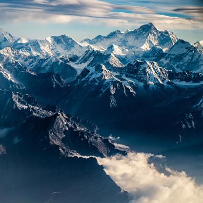 Nepal「Mountain peak in Nepal Himalaya」:スマホ壁紙(7)