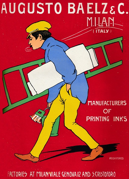 Colored Background「Augusto Baelz & C Advert, 1907」:写真・画像(4)[壁紙.com]