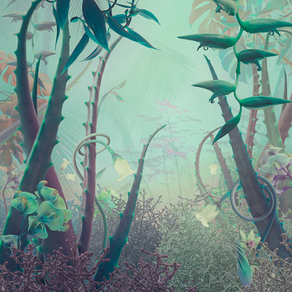 Surreal「Fairy garden」:スマホ壁紙(4)