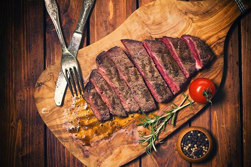 Porterhouse Steak「Grilled Juicy Beef Steak」:スマホ壁紙(3)