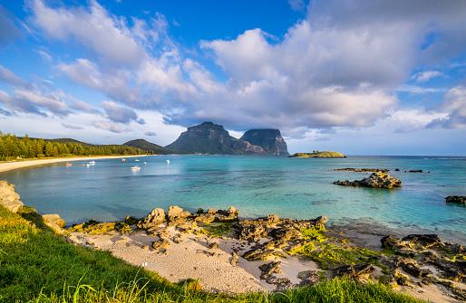 ゴア山「Lord Howe Island Lagoon」:スマホ壁紙(14)