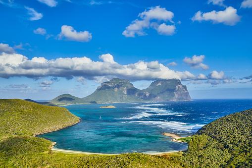 ゴア山「Lord Howe Island,New South Wales,Australia」:スマホ壁紙(13)