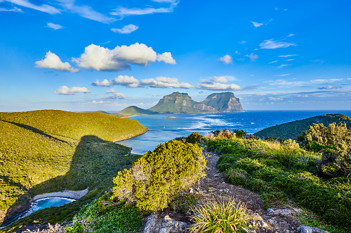 ゴア山「Lord Howe Island,New South Wales,Australia」:スマホ壁紙(2)