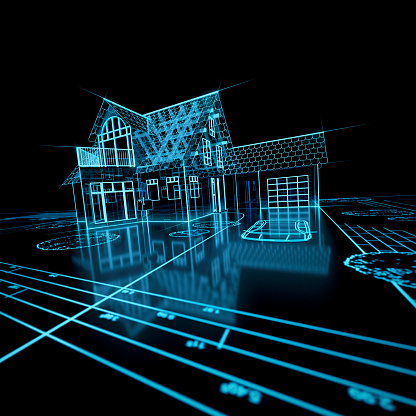 Virtual Reality「Digital house model」:スマホ壁紙(13)