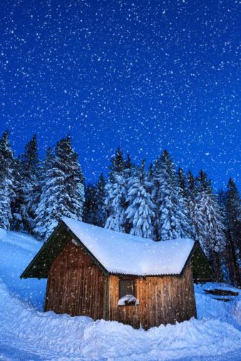 Chalet「Alpine hut」:スマホ壁紙(7)