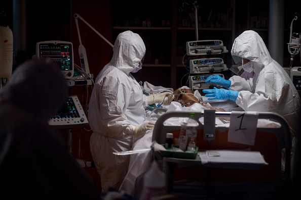 Patient「Coronavirus Outbreak Continues In Italy」:写真・画像(9)[壁紙.com]