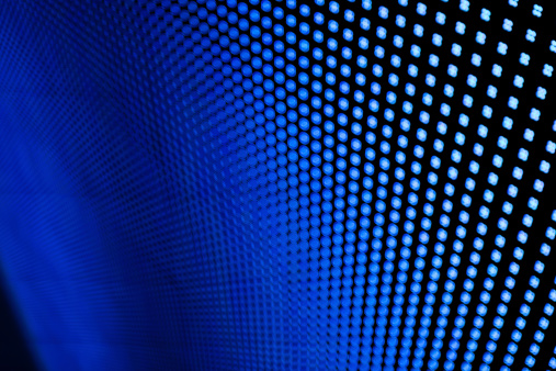 Funky「Blue LED lights.」:スマホ壁紙(16)