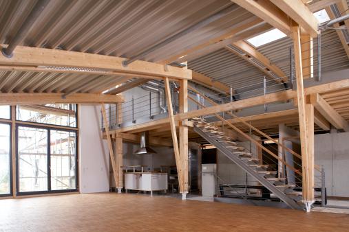 Metallic「New empty office space」:スマホ壁紙(3)