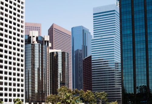 City Of Los Angeles「city skyline full of modern office buildings」:スマホ壁紙(13)