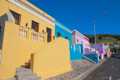 Malay Quarter「Houses in Bo Kaap, Cape Town.」:スマホ壁紙(9)