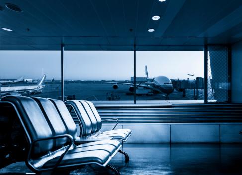 Commercial Airplane「Airport Terminal」:スマホ壁紙(17)