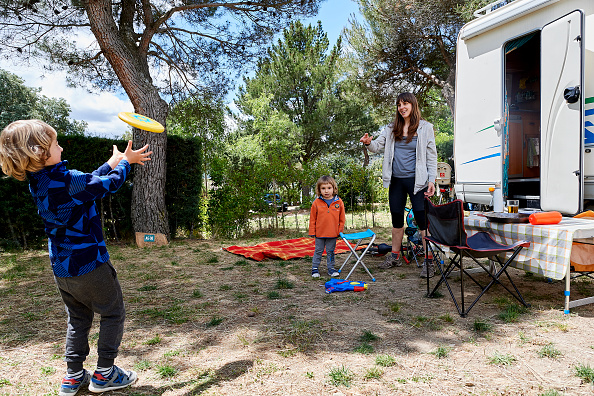 Camping「Spain's Campsites Fill As Vacationers Stay Closer To Home After Lockdown」:写真・画像(4)[壁紙.com]