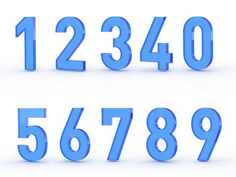 Zero「Numbers set」:スマホ壁紙(14)