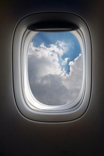 Passenger Cabin「Airplane window」:スマホ壁紙(7)