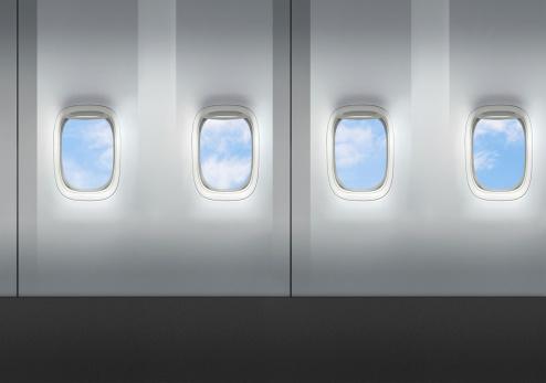 Passenger Cabin「Airplane windows」:スマホ壁紙(11)