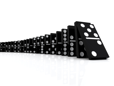 Destruction「Domino Effect」:スマホ壁紙(8)