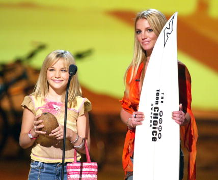 Jamie Lynn Spears「Teen Choice Awards 2002 - Show」:写真・画像(15)[壁紙.com]