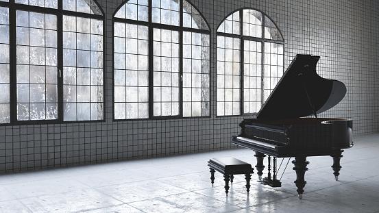 Musical instrument「Loft warehouse music concept」:スマホ壁紙(9)