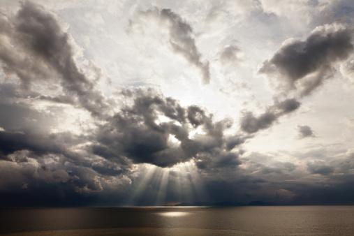 Cumulus Cloud「Sunrise and clouds」:スマホ壁紙(17)